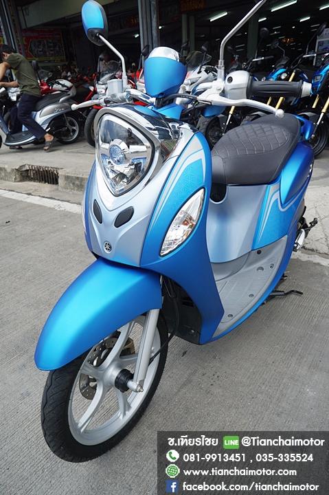 FINO FI รถ11เดือน 6พันโล สภาพนางฟ้า เครื่องแน่นๆ สีสดใส ราคา 38,500