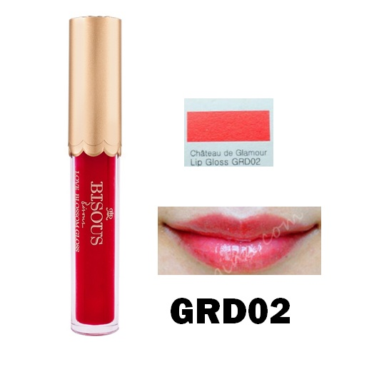 BISOUS BISOUS Chateau De Glamour Lip Gloss GRD02