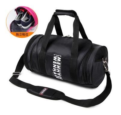 พรีออเดอร์!!! fashion กระเป๋าสะพายกีฬา ใส่รองเท้าได้ รหัส 2308