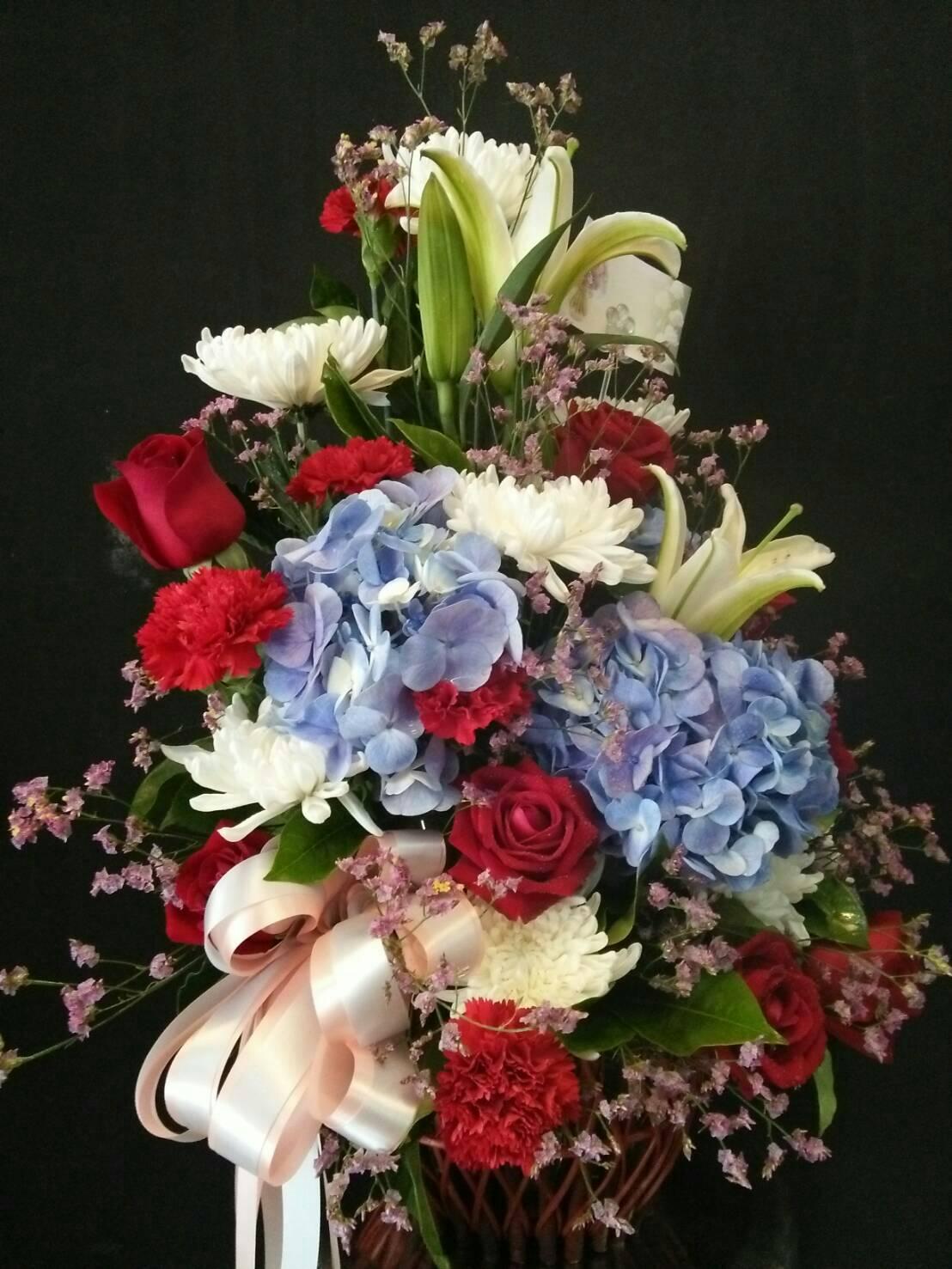 กระเช้าดอกไม้11