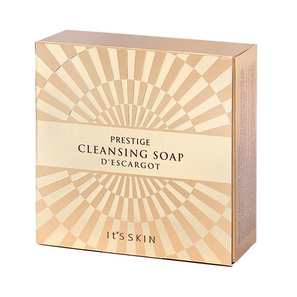 It's SKIN PRESTIGE Cleansing Soap D'escargot 300 ml.