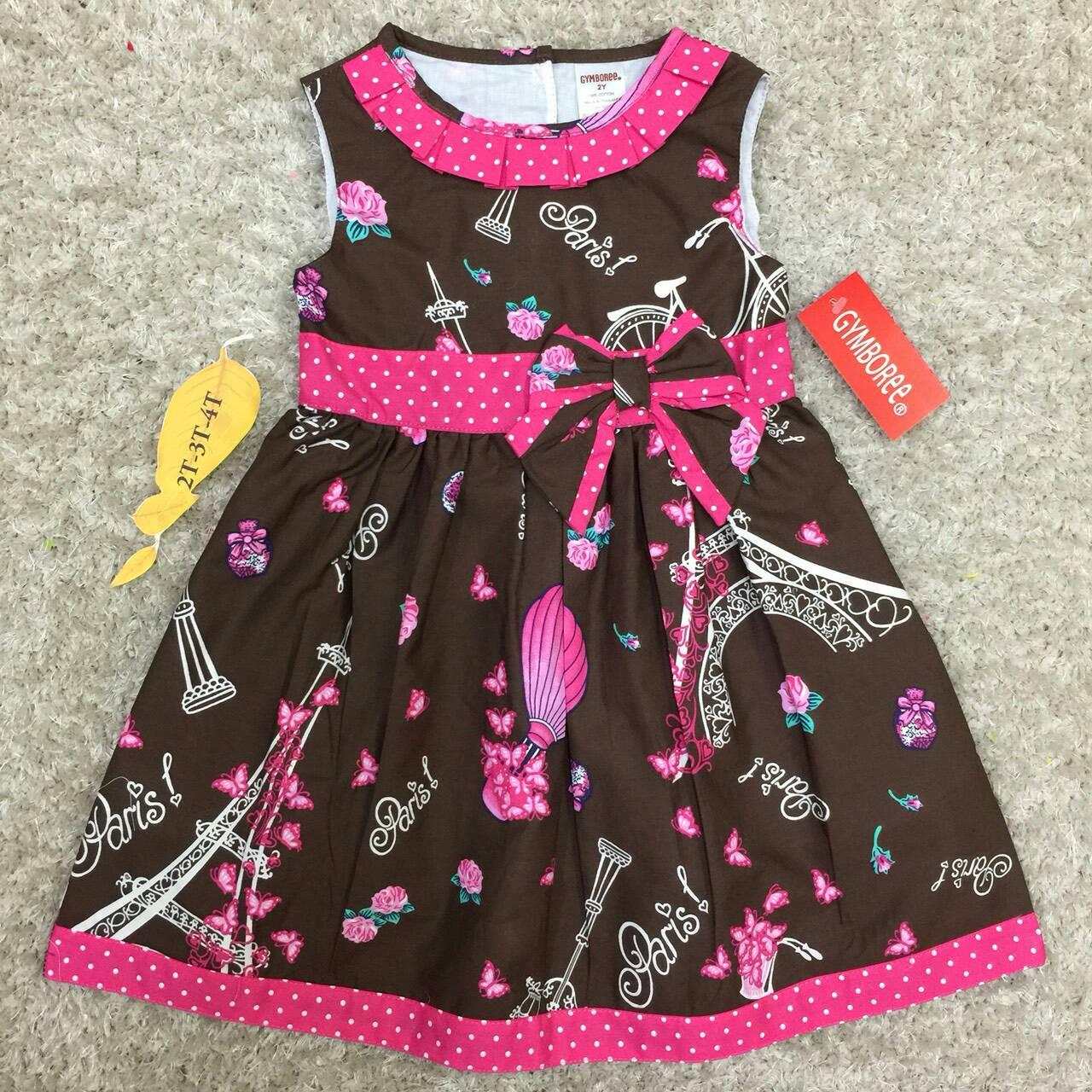เสื้อผ้าเด็ก ชุดเดรสเด็ก 2-4ปี size 2Y-3Y-4Y