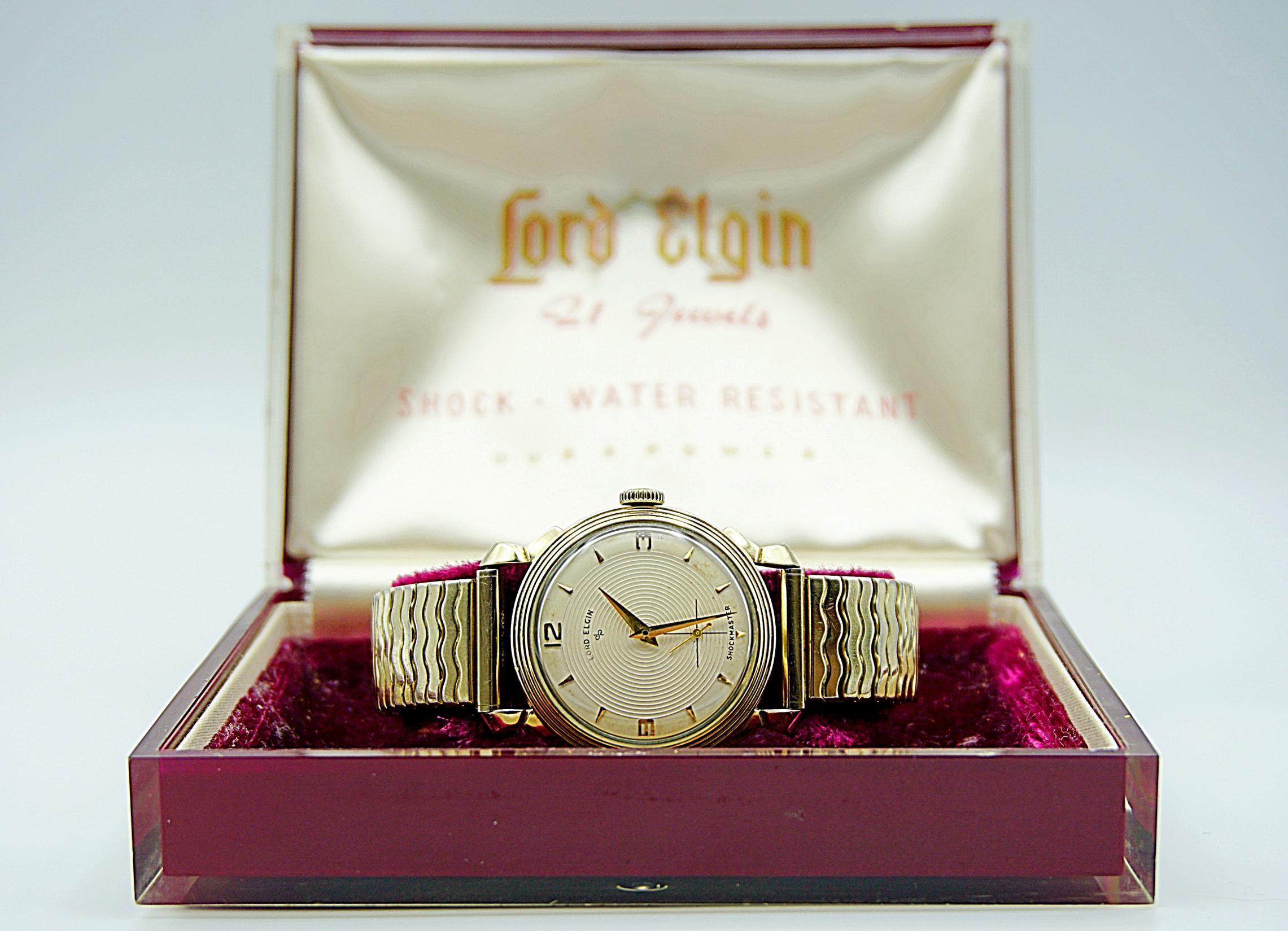 นาฬิกาเก่า LORD ELGIN ไขลาน พร้อมกล่อง