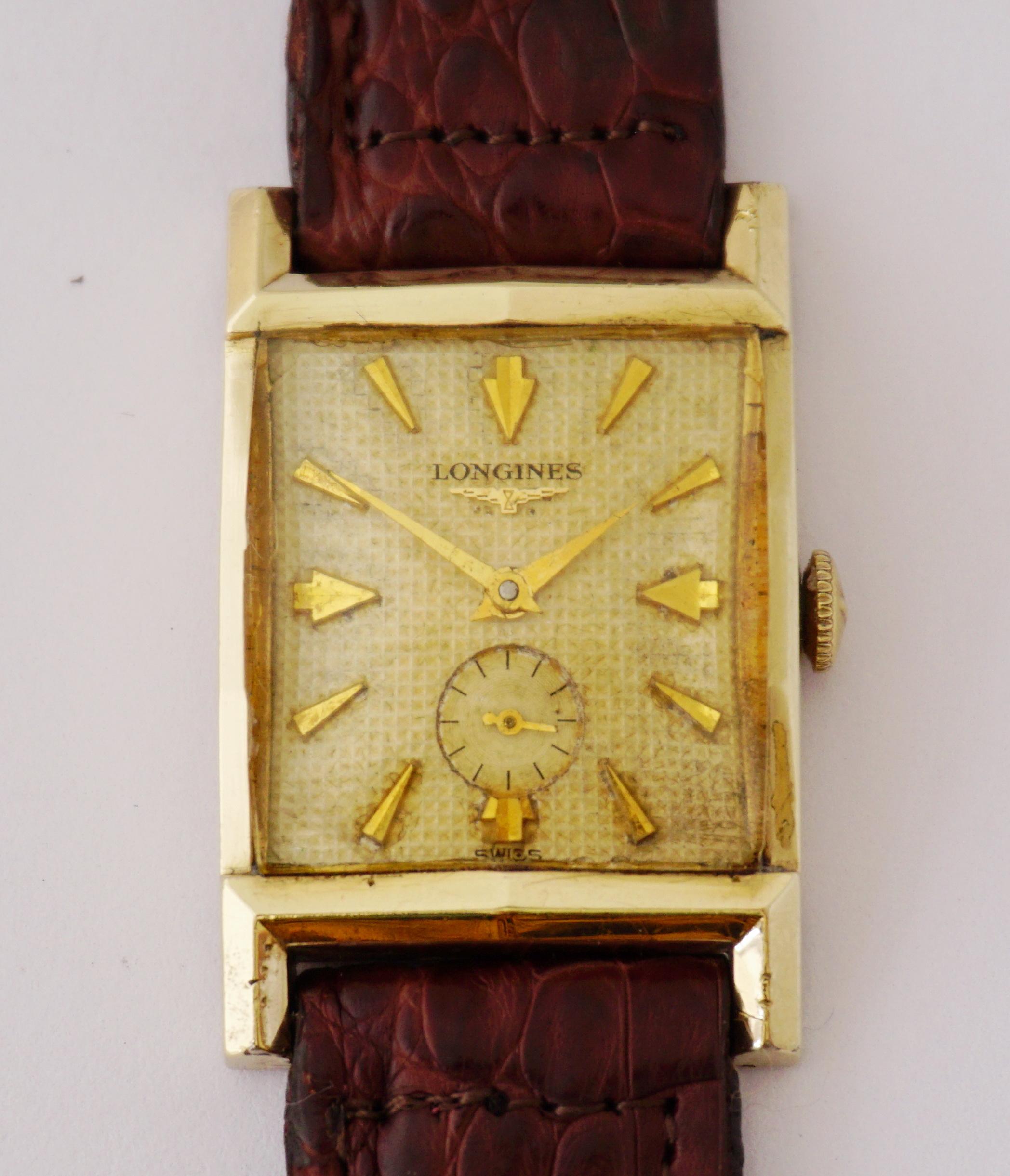 นาฬิกาเก่า LONGINES ไขลานสองเข็มครึ่ง