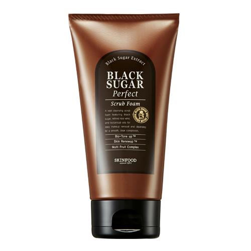 Skinfood Black Sugar Perfect Scrub Foam ขนาด 180g