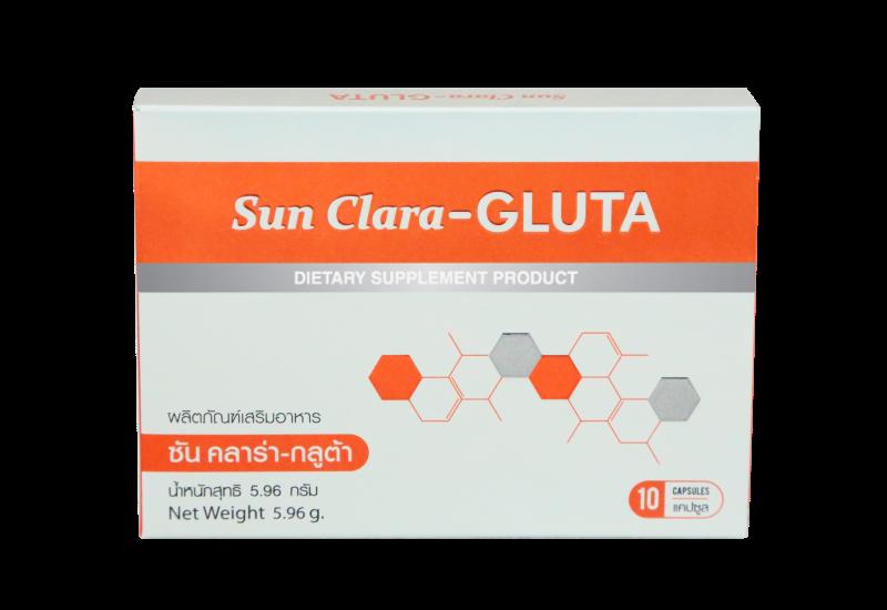 Sun Clara Gluta ซัน คลาร่า กลูต้า บรรจุ 30 แคปซูล