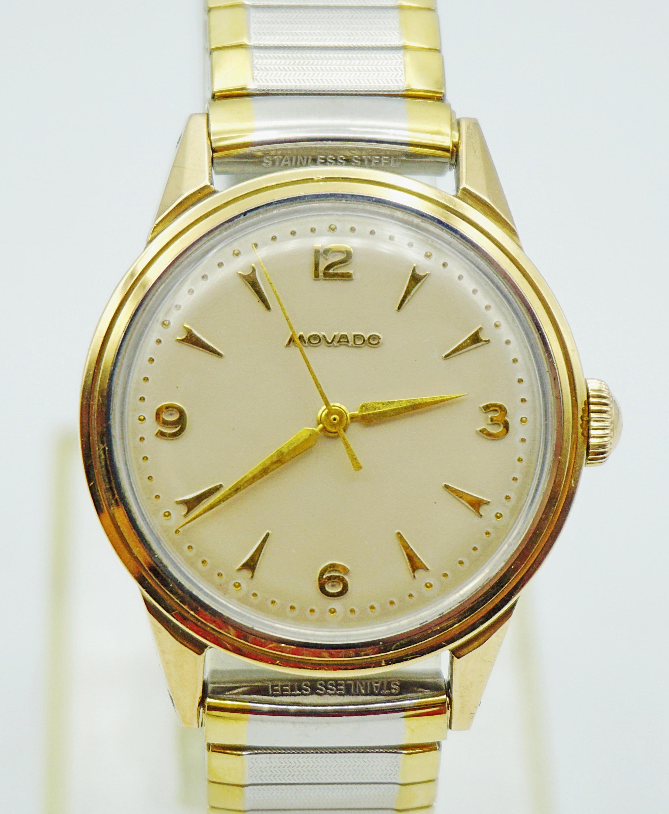 นาฬิกาเก่า MOVADO ออโตเมติกครึ่งรอบ