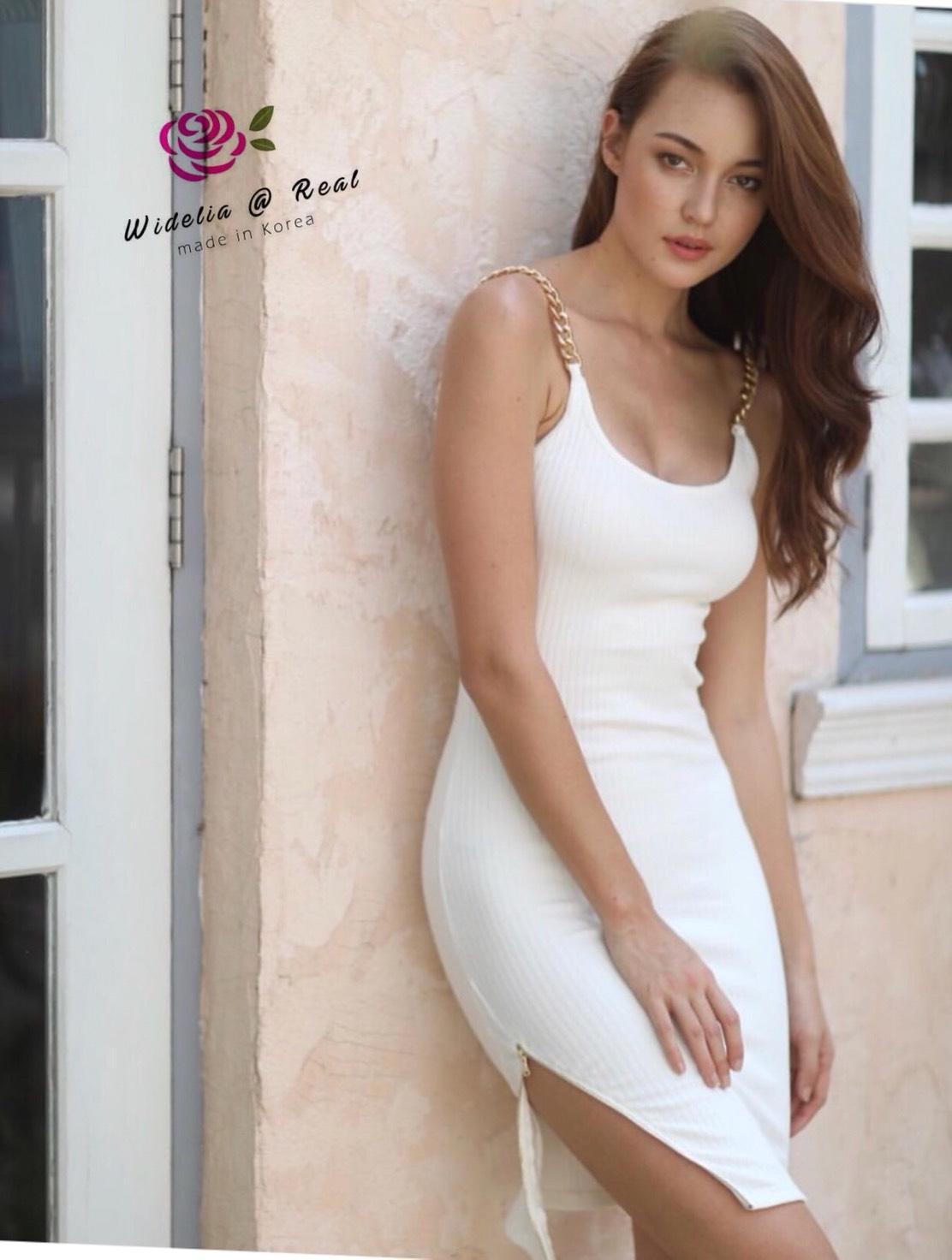 Dress เดรสสายเดี่ยว ตัวนี้แซ่บและสวยมาก