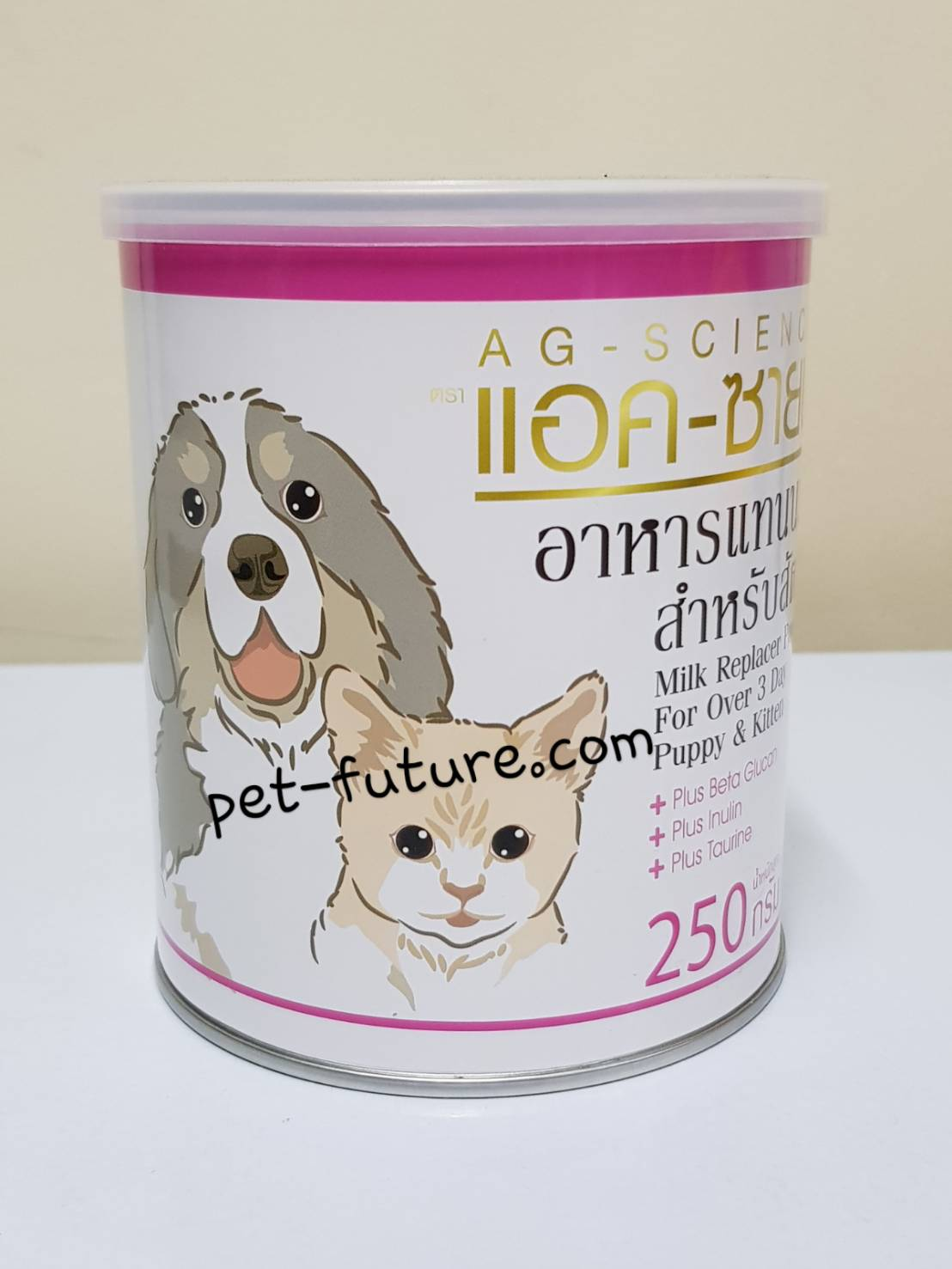 AG-SCIENCE แอค-ซาชน์ สำหรับลูกสุนัขและลูกแมวค่ะ (Exp. 01/20)