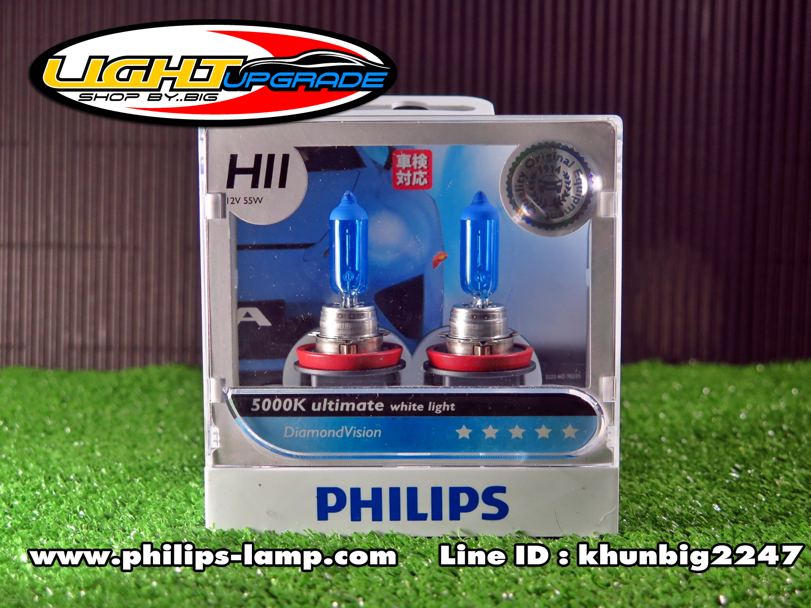 Philips Diamond Vision 5000K (H11)