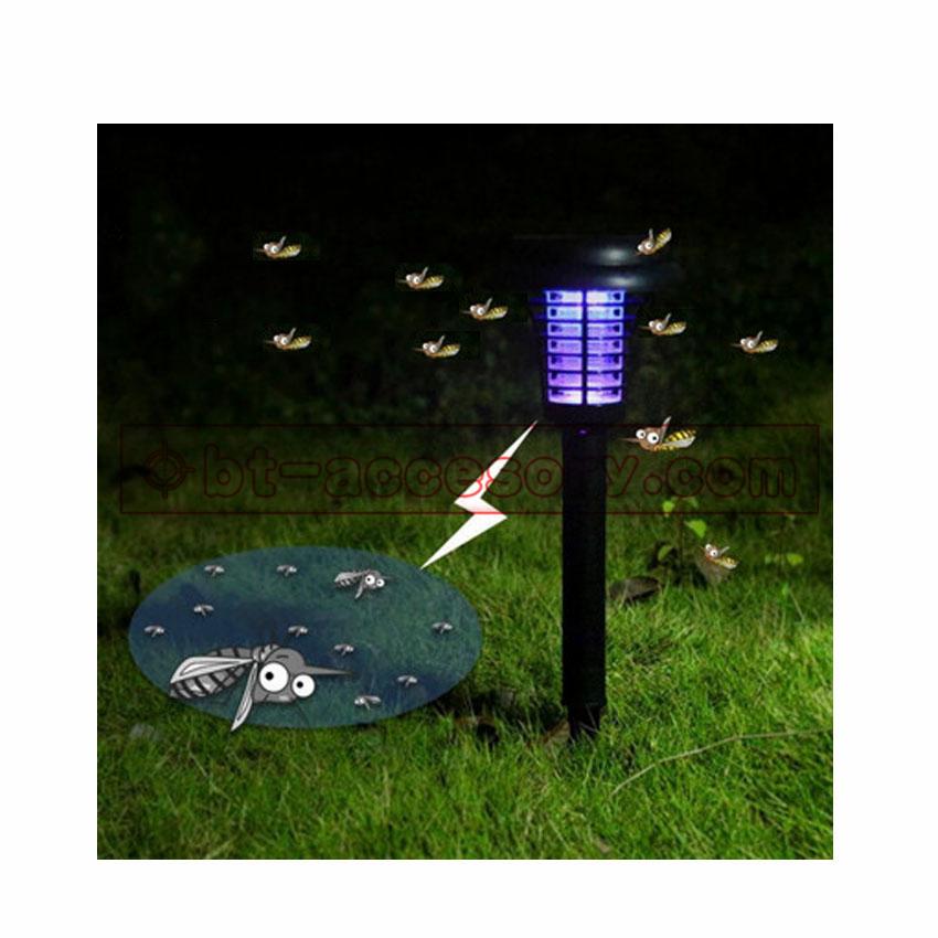 Solar light kill mosquito ไฟโซล่าเซลล์พลังงานแสงอาทิตย์กำจัดยุง