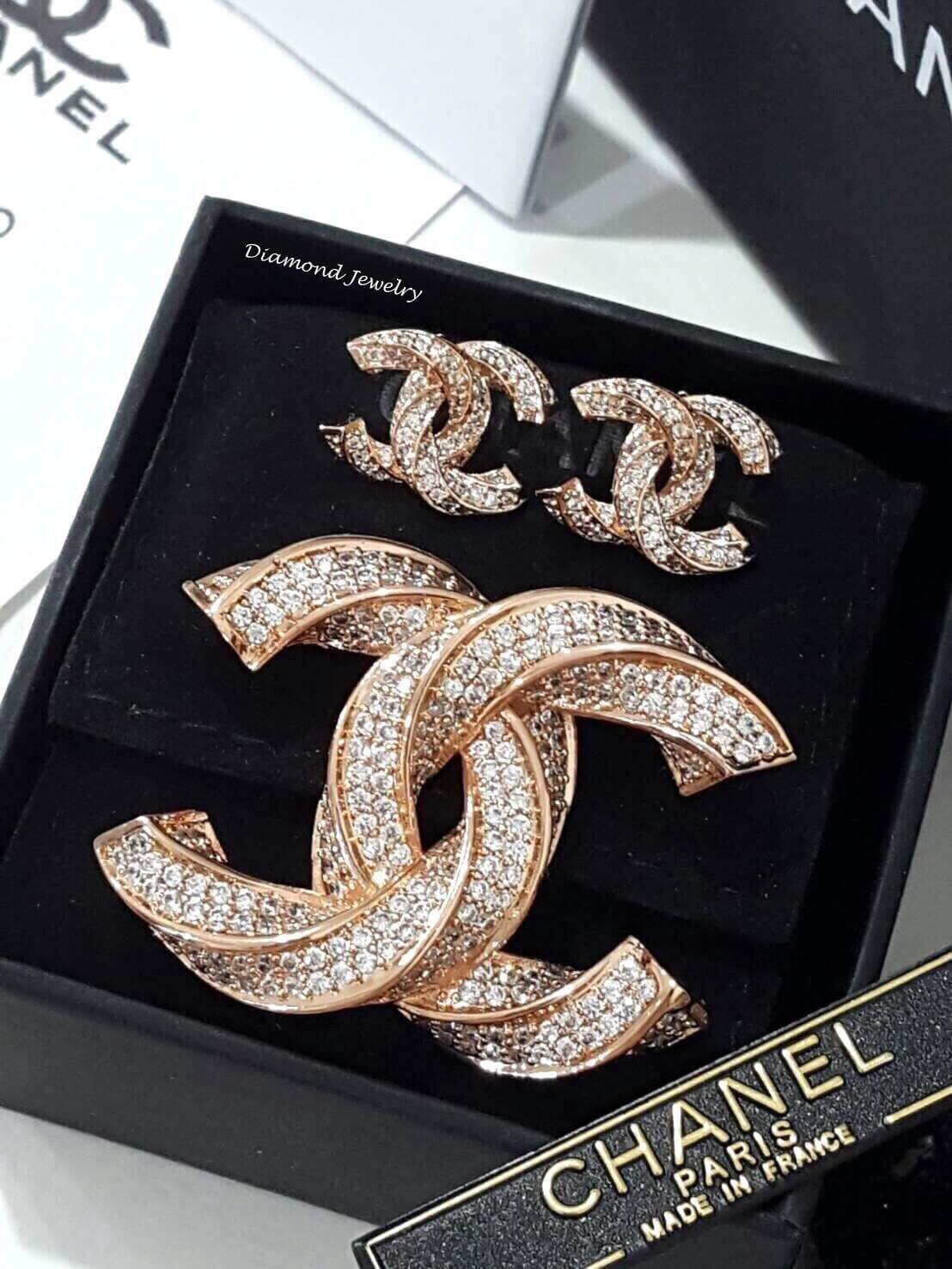 พร้อมส่ง Chanel Earring & Brooch
