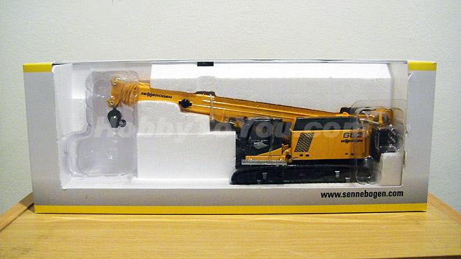 โมเดลรถเครน Sennebogen 683HD Tracked Crane 1:50 by Ros