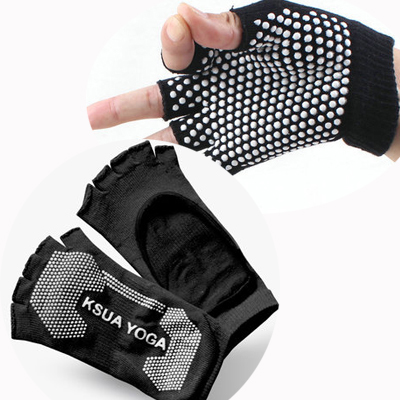 (พรีออเดอร์) ถุงมือ ถุงเท้าโยคะ กันลื่น YKSM30-33