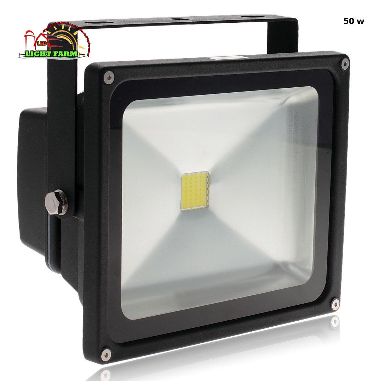 สปอร์ตไลท์ LED 50 w มอก. ( แสงสีขาว )
