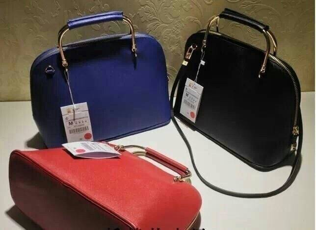 HotHit!! Zara handbag หูเหล็กสีทอง