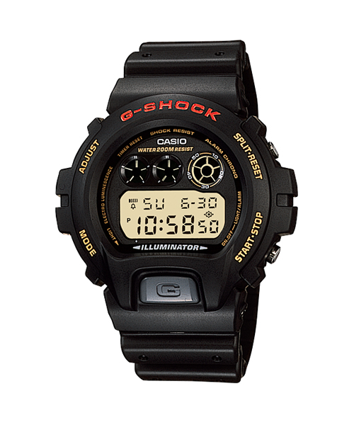 GShock G-Shockของแท้ รุ่น DW-6900G-1V จีช็อค นาฬิกา ราคาถูก ราคาไม่เกิน สามพัน