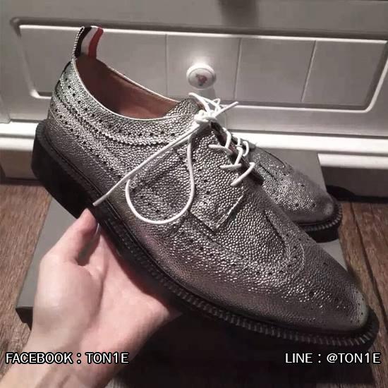 รองเท้าT้hom Browne Metalic Wingtip Brogues สีเงิน 37-44