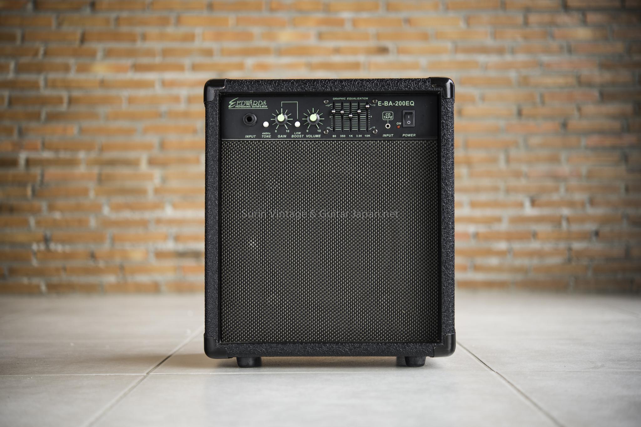 แอมป์เบสไฟฟ้ามือสอง EDWARDS EBA-200EQ Bass Combo