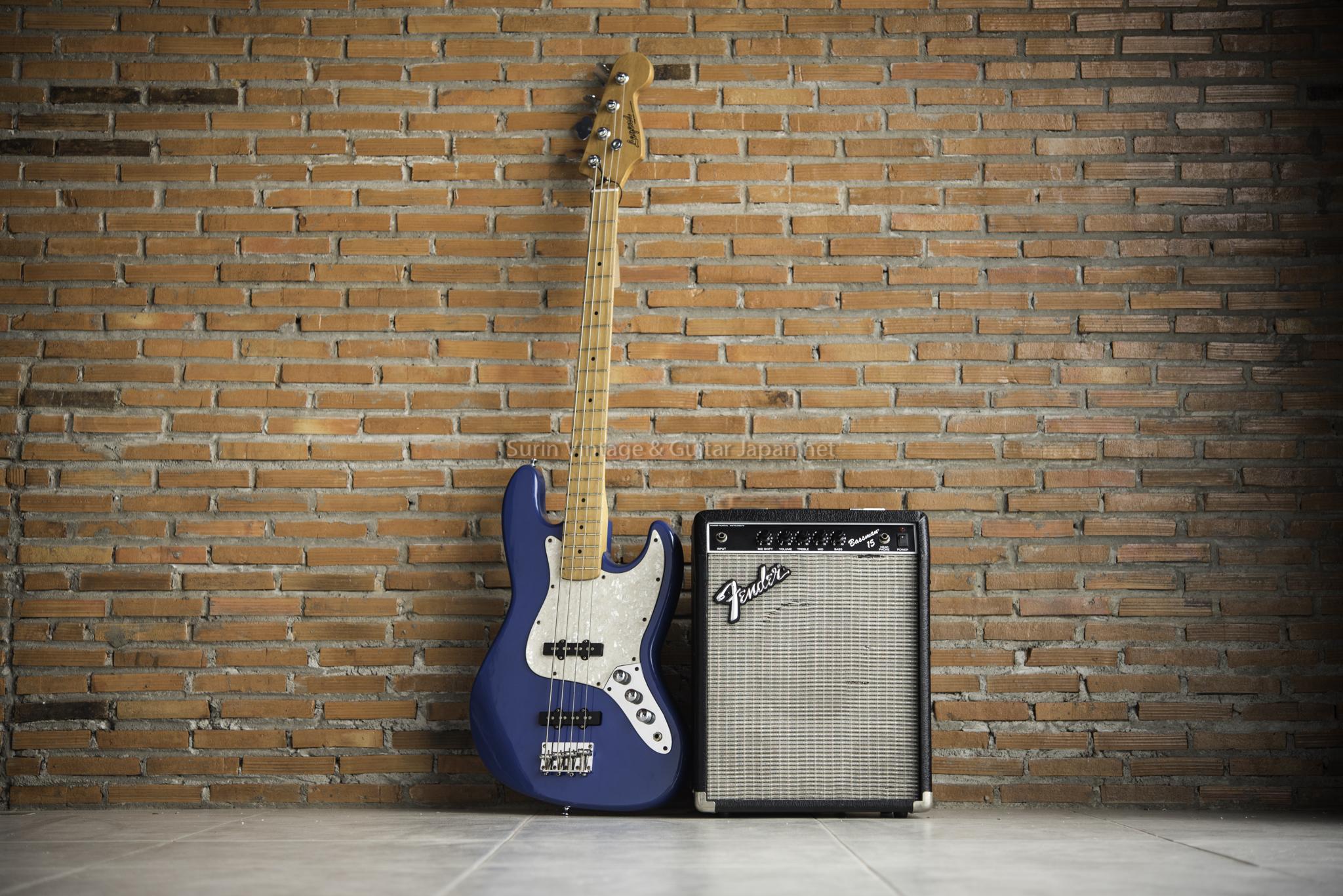 แอมป์เบสกีต้าร์ไฟฟ้ามือสอง Fender Bassman 15 No.3
