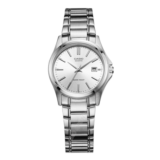 นาฬิกา ข้อมือผู้หญิง casio ของแท้ LTP-1183A-7ADF