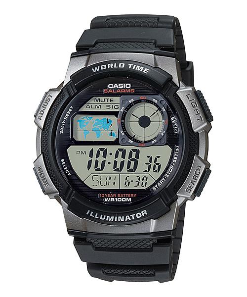 Casio นาฬิกาผู้ชาย รุ่น AE-1000W-1BVDF - สีดำ CASIO นาฬิกา ราคาถูก ไม่เกิน สองพัน