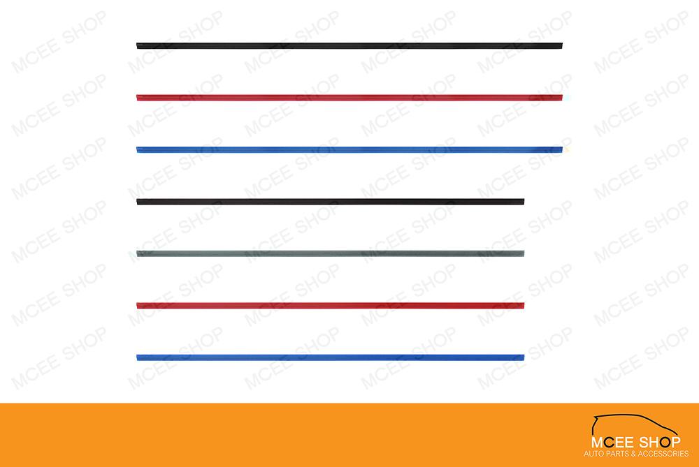 รีฟิลซิลิโคน หนา 6 มิล. ยาว 24 นิ้ว ( สีดำ )