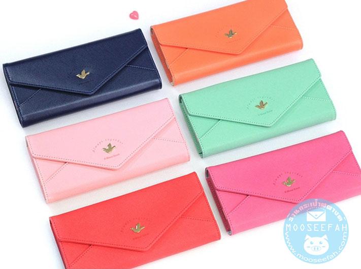 กระเป๋าสตางค์ Love me Sweet wallet [แบบสามพับ]
