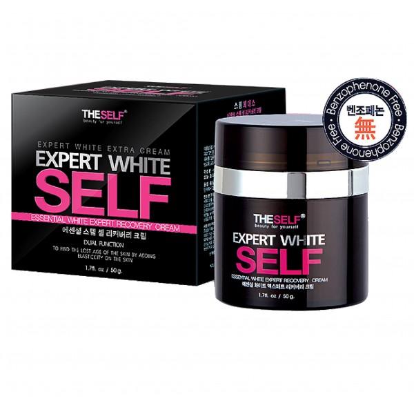 The Self Expert White Self 50g เดอะ เซลฟ์ เอ็กเพิร์ท ไวท์ เซลฟ์ ผิวสะอาด กระจ่างใส เนียนนุ่ม