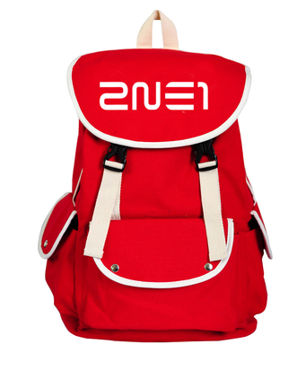 กระเป๋าเป้ 2ne1 สีแดง