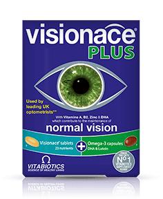 วิตามินบำรุงสายตา Visionace Plus 1 กล่อง