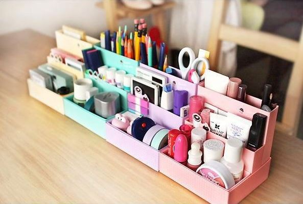 D.I.Y Storage Box กล่องจัดระเบียบ (มีหลายสีให้เลือกค่ะ)