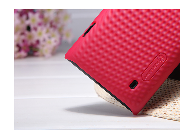Nillkin Frosted Red Case For Nokia Lumia 520