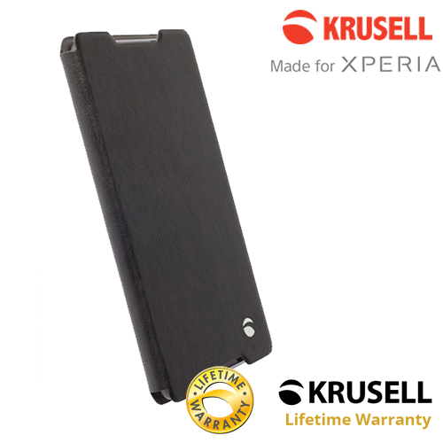 เคสฝาพับ Xperia Z5 Compact ของ Krusell Ekero Folio Skin Case