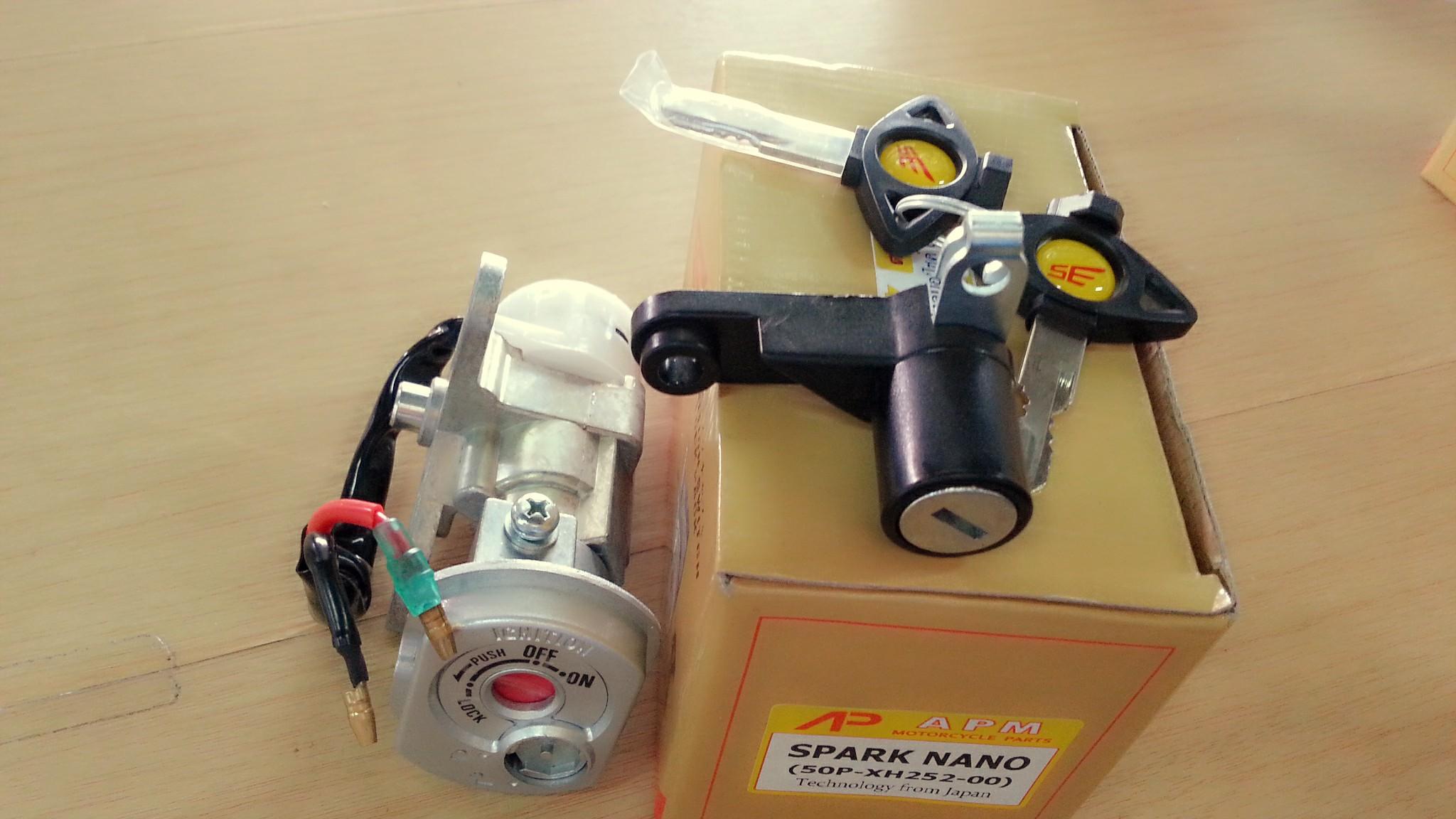 สวิทช์กุญแจ SPARK NANO ( สปาร์คนาโน)