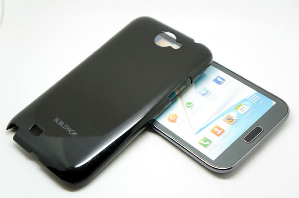 Buble Pack Black Case For Samsung Galaxy Note 2