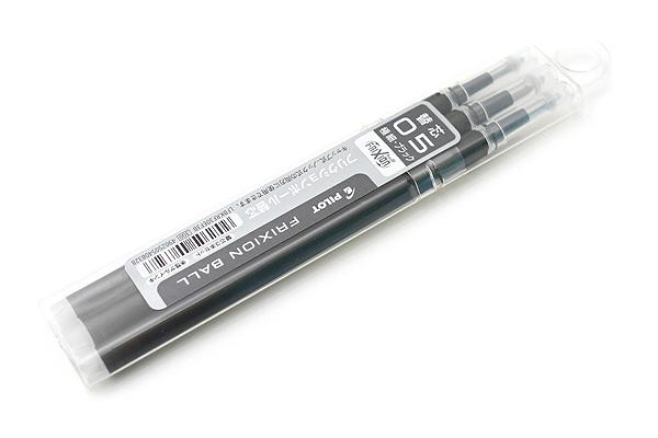 ไส้ปากกาลบได้ PILOT FRIXION Knock Ball REFILL 0.5 mm - Black