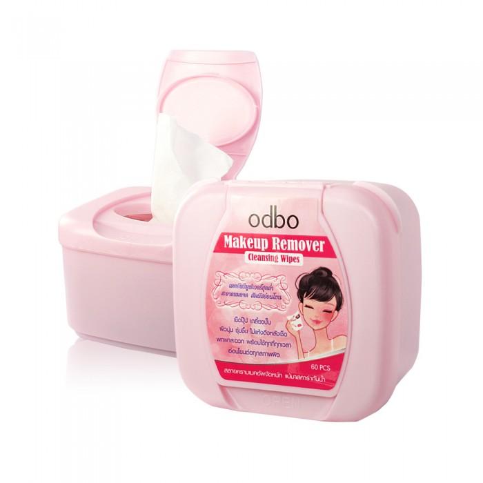 โอดีบีโอ เมคอัพ รีมูปเวอร์ คลีนซิ่ง ไวพส์ Odbo Makeup Remover Cleansing Wipes No. OD846 ราคาถูก