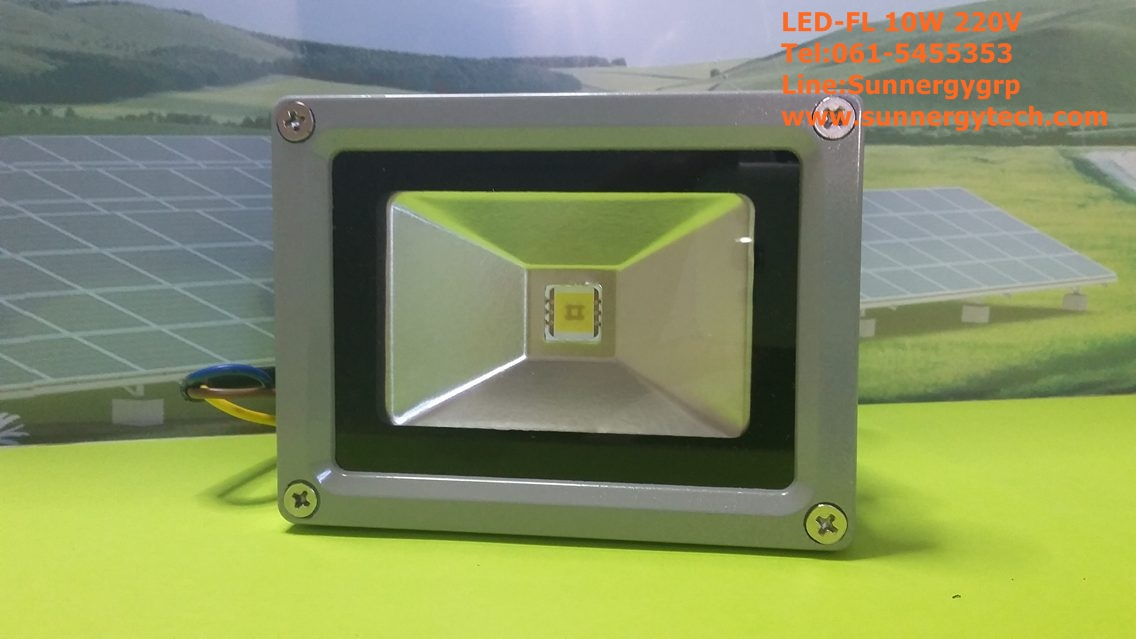 หลอดไฟ LED-FL ขนาด 10W 220V 6000K
