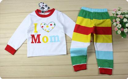 ฺBk_ชุดนอนลาย Love mom