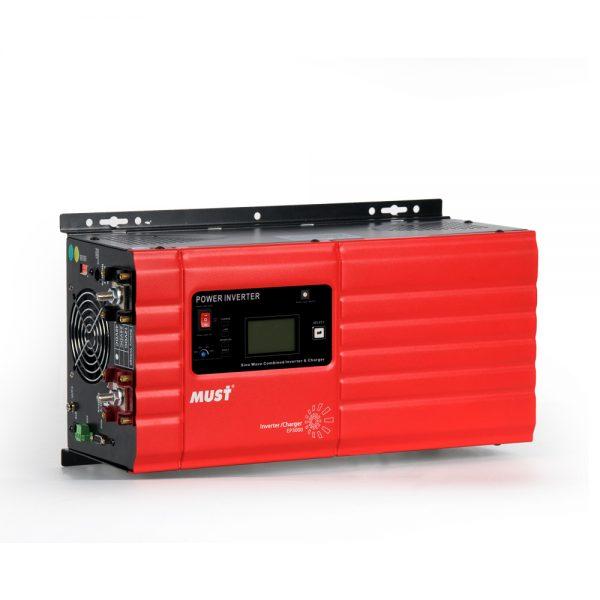 Inverter (หม้อแปลงไฟฟ้า ชนิดขดลวด Transformer) รุ่น PSW-T 4000W 24V