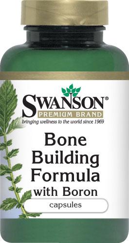 Swanson Bone Building Formula with Boron 250 Capsule อาหารเสริมเพิ่มความสูง ช่วยเสริมสร้างกระดูก