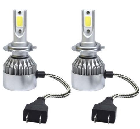 ไฟหน้า LED ขั้ว H7 COB 36W รุ่น C6