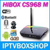 Hibox 968M Android 4.4.2 Ram2 GB iptv box