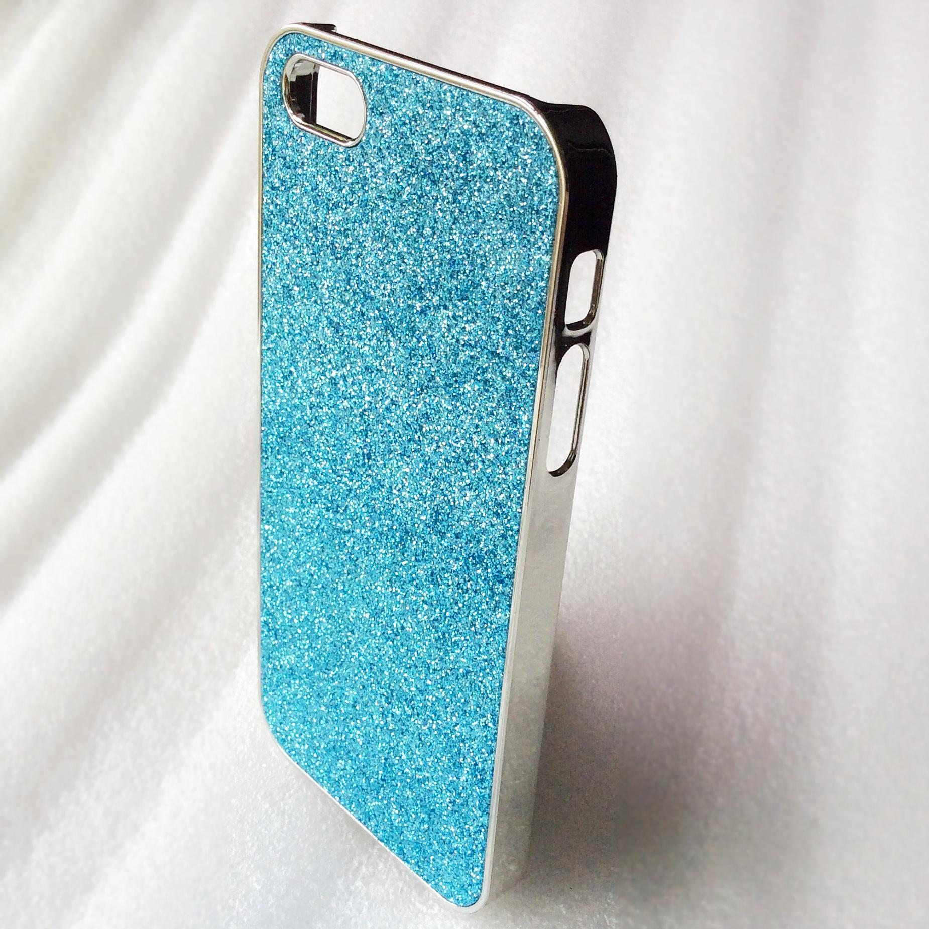 *Clearance Sale* Case iPhone 5/5s วิ้งๆสีฟ้า