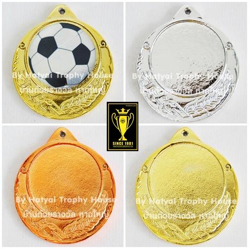 เหรียญรางวัล/กีฬา ติดโลโก้ ML-001 ( 2 Size )