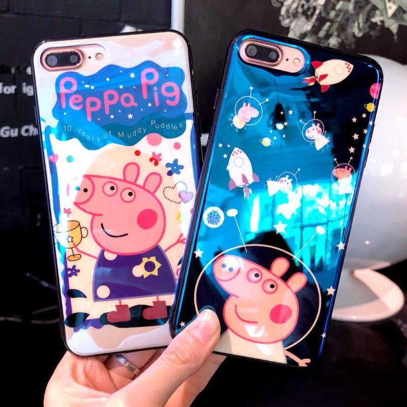 Blue Ray PeppaPig iPhone 5/5S/SE