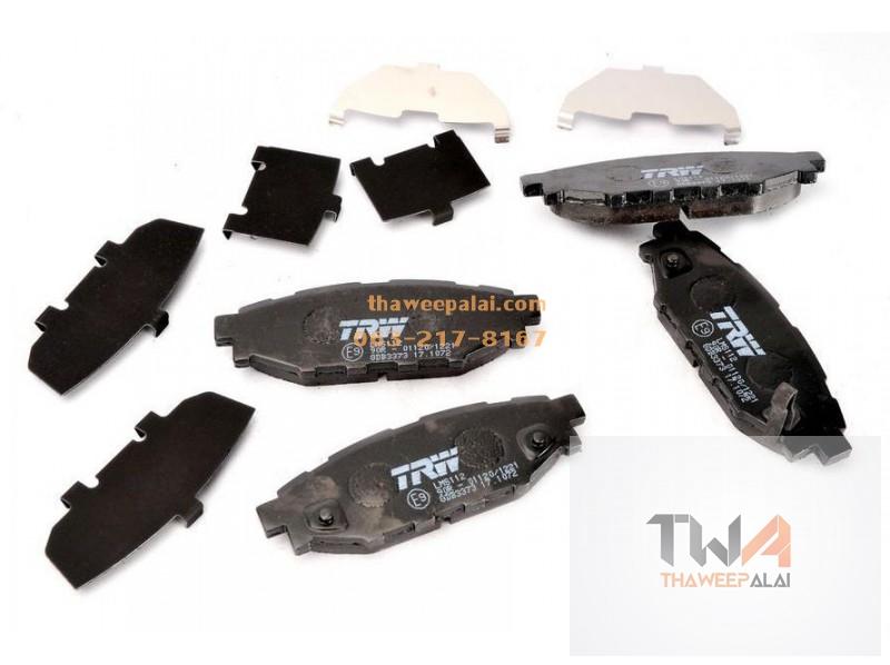 ชุดผ้าดิสเบรคหลัง SUBARU XV ปี12- (รูปจริง) /TRW D-TEC*