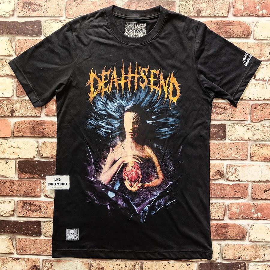 เสื้อยืดแฟชั่น Death's end burn