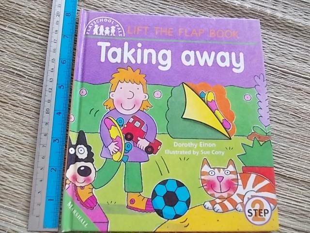 Taking Away / Step 2 (Lift the Flap Book)